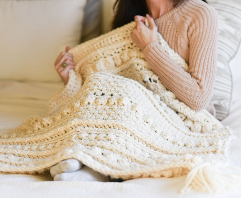 Crochet Kit - Wintertide Throw