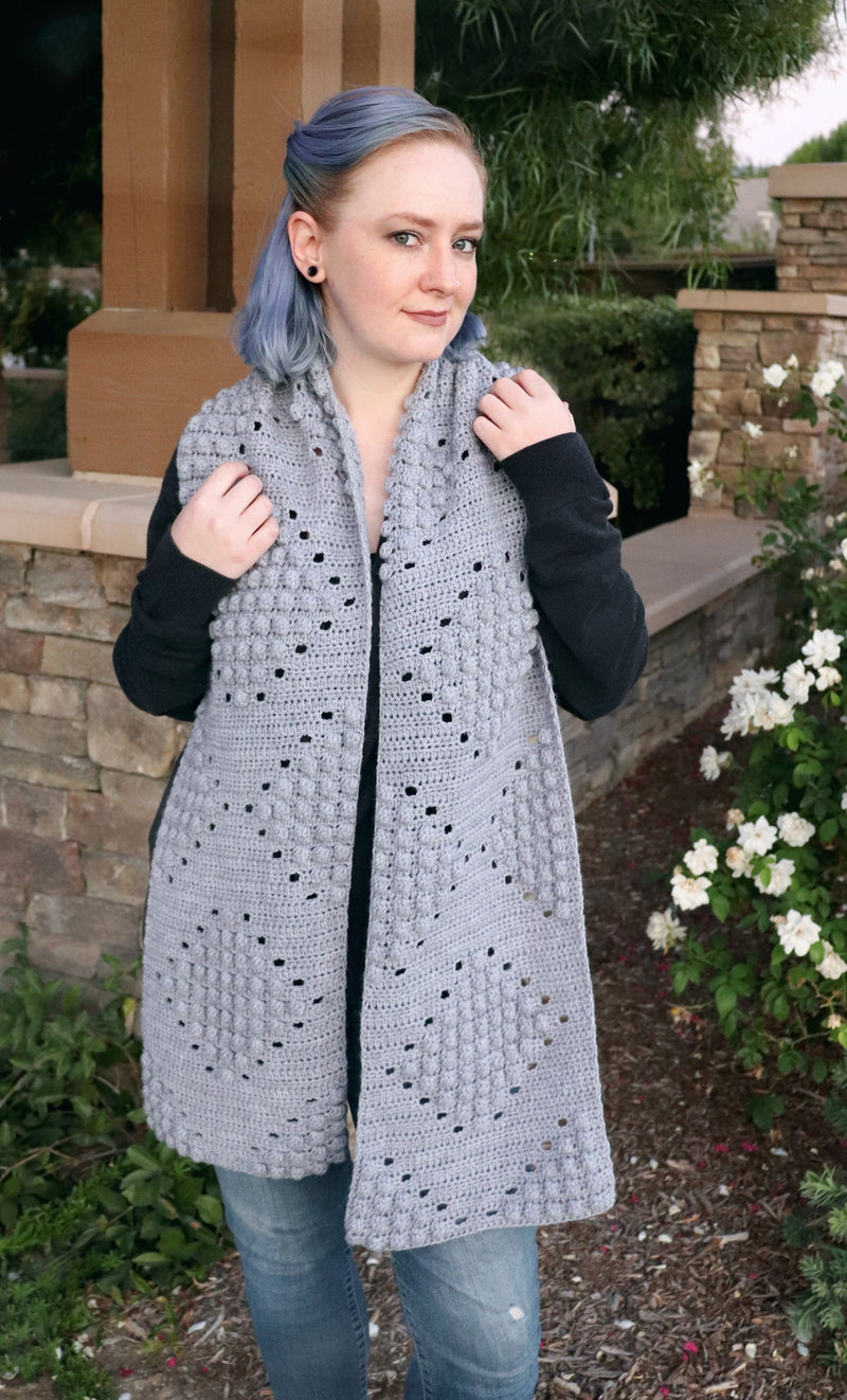 Crochet Kit - Bridget Bobble Scarf