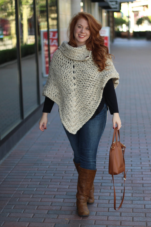 Crochet Kit - Partridge Creek Poncho