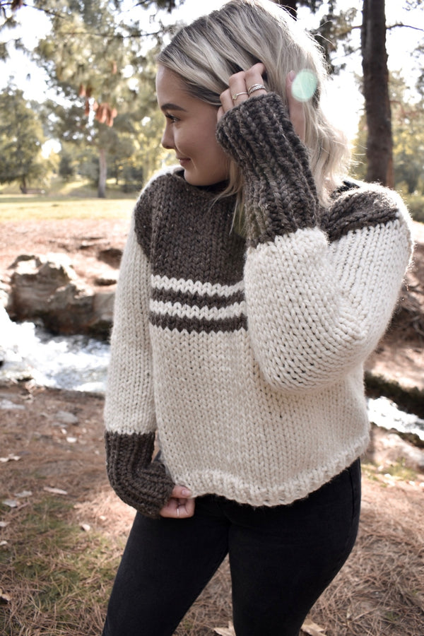 Knit Kit - Hadleigh Sweater