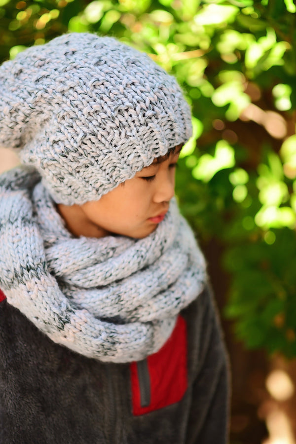 Knit Kit - Arctic Slouch Beanie and Scarf