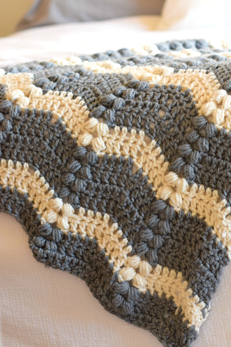 Crochet Kit - Vintage Lola Throw
