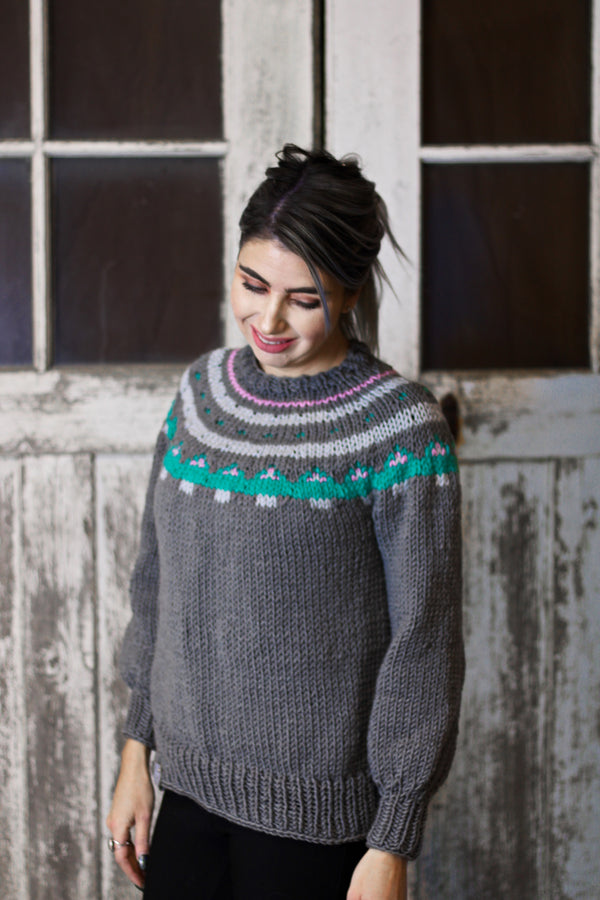 Knit Kit - Sugar Cookie Pullover