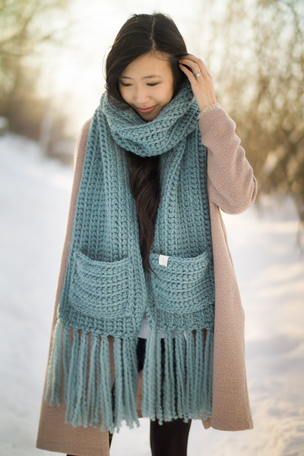 Crochet Kit - The Willow Scarf