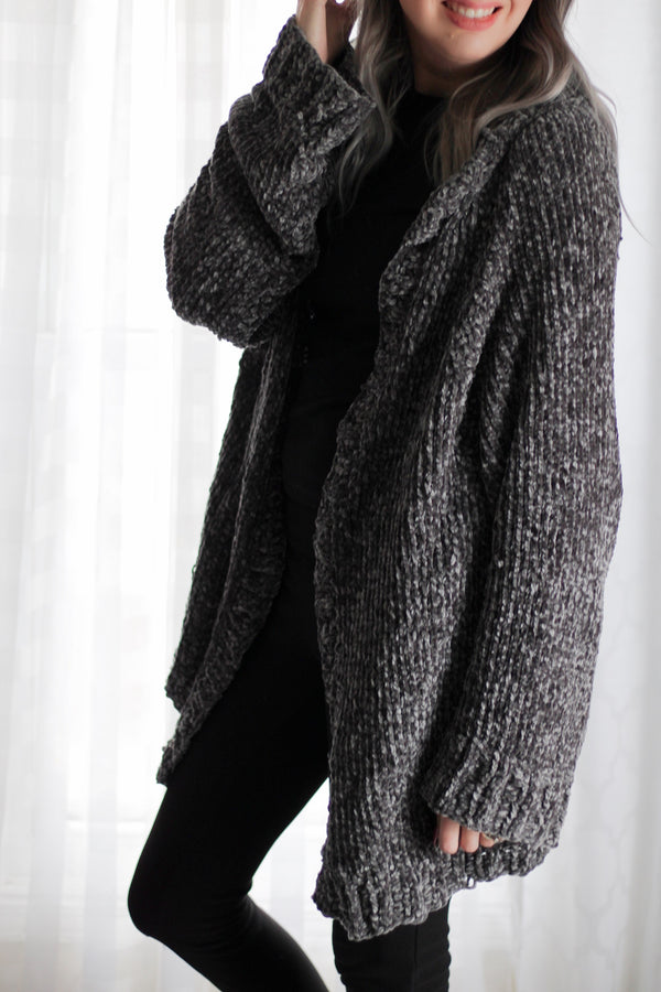 Knit Kit - Easy Vel-Lux Cardigan