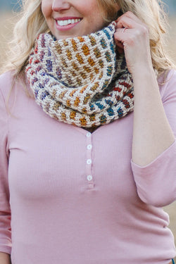 Crochet Kit - Stained Glass Cowl