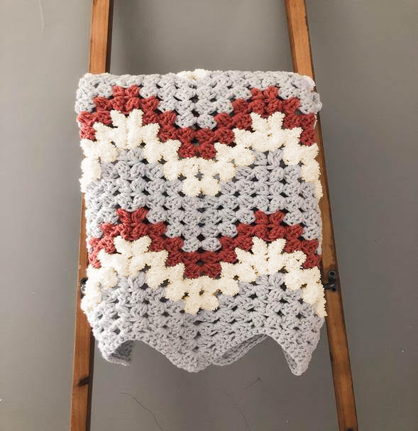 Crochet Kit - Done in a Weekend Baby Blankie