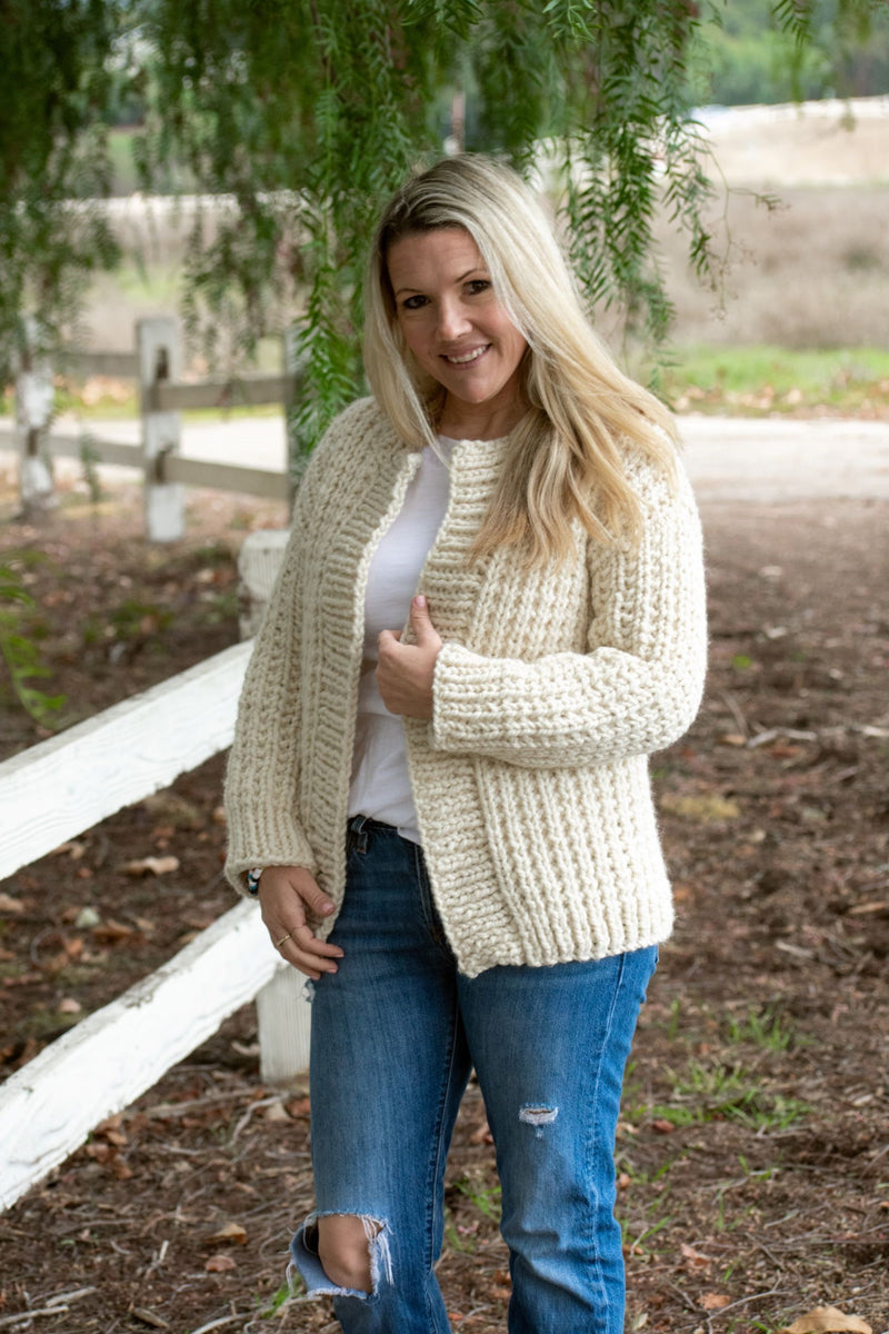 Knit Kit - Cottage Cardigan