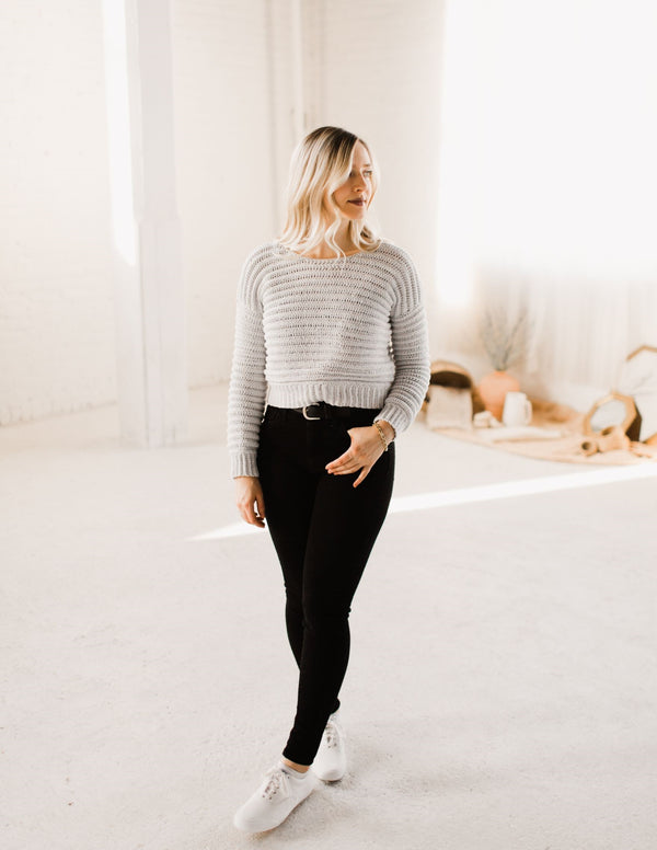 Crochet Kit - Body Language Sweater