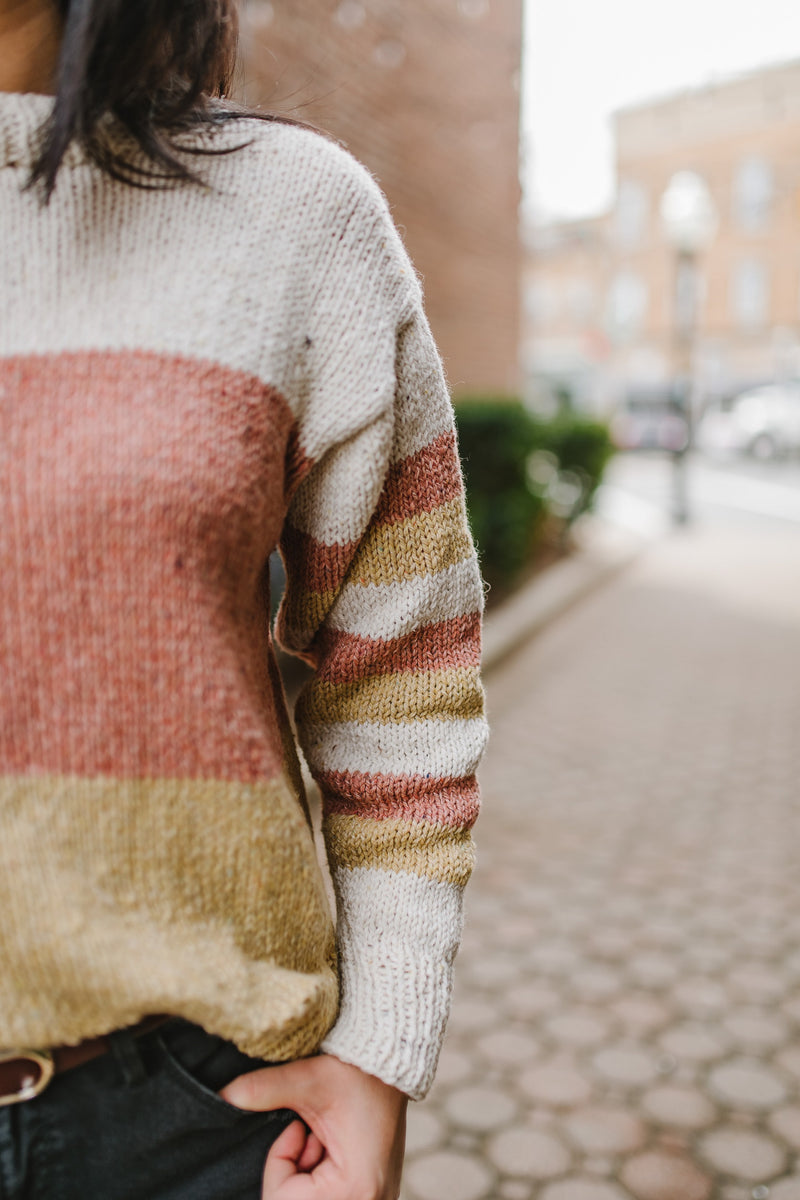 Knit Kit - Block Party Sweater
