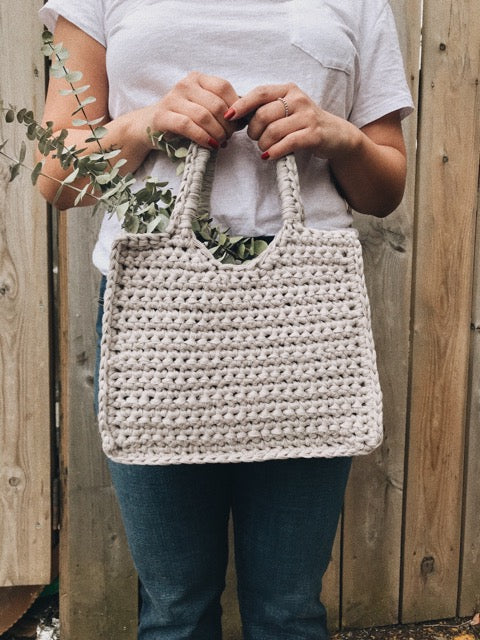Crochet Kit - Structured Square Bag