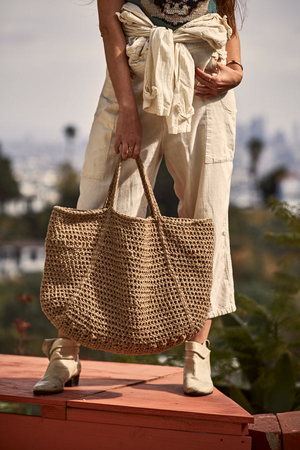 Crochet Kit - Field Trip Tote