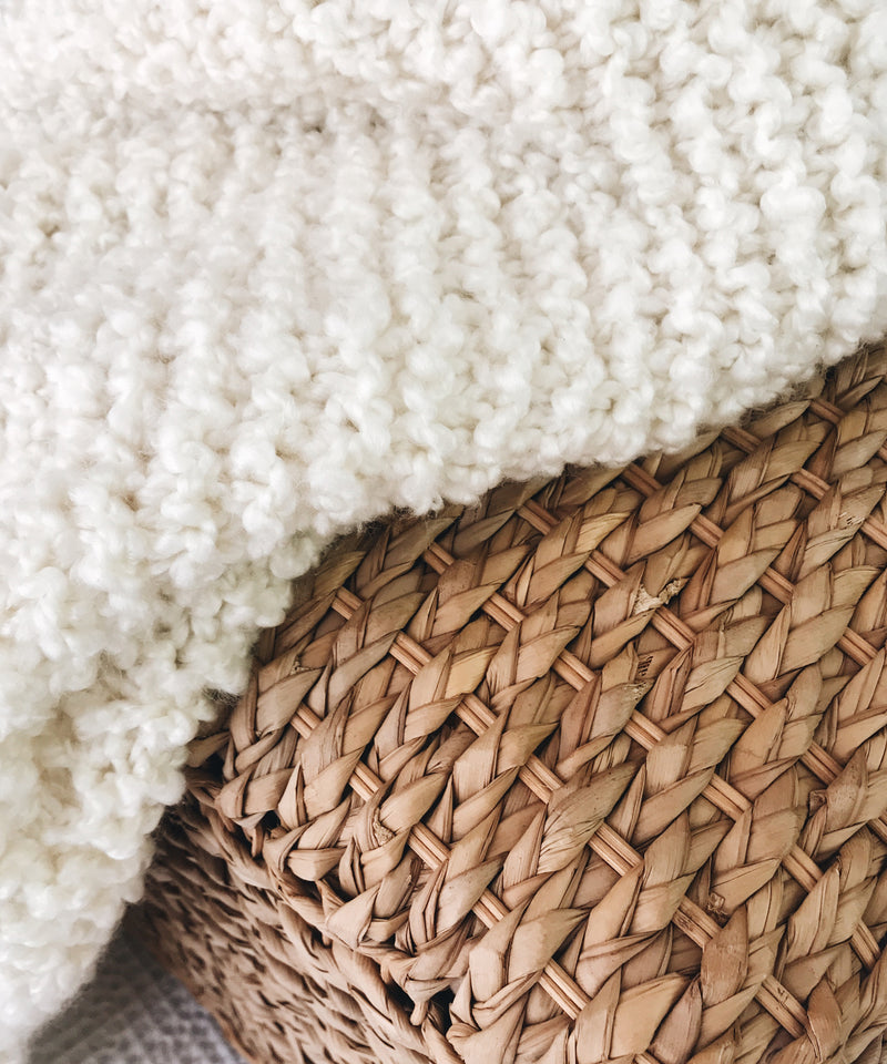 Knit Kit - Bouclé Blanket