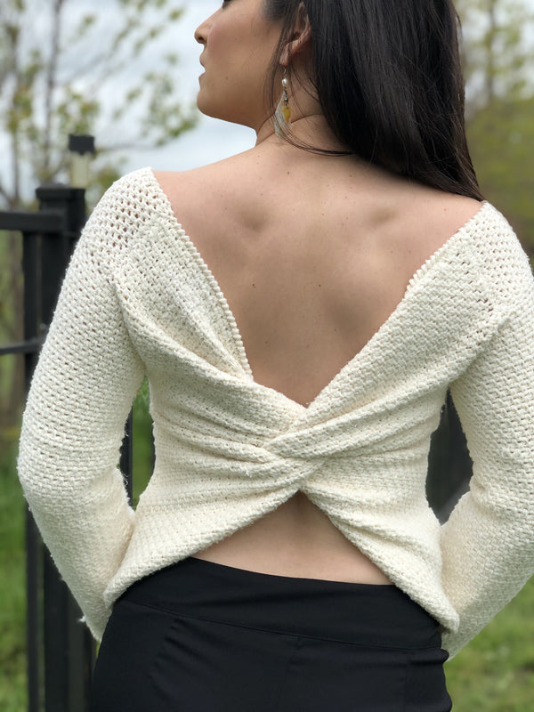 Crochet Kit - Knot Sweater