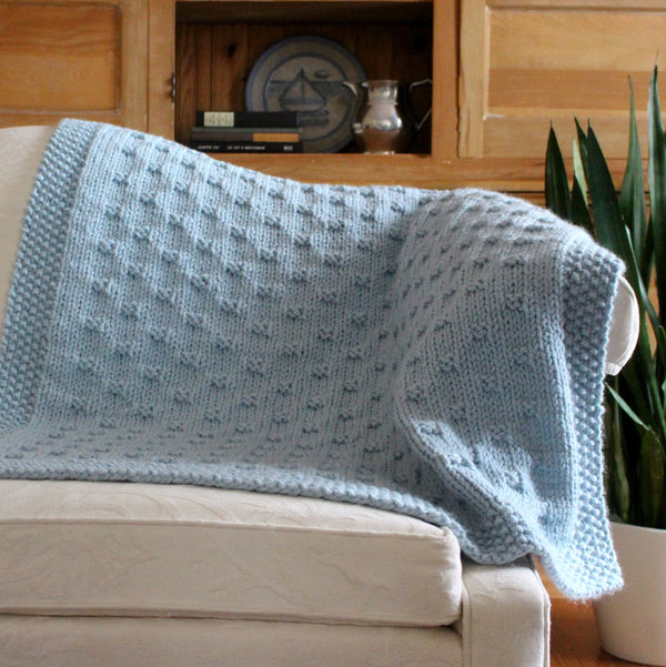 Knit Kit - Belleview Blanket
