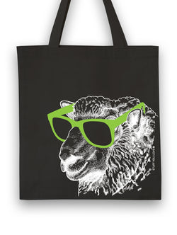 Knit Happy Tote Cool Sheep