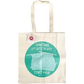 Tote Bag: Sometimes It's Best To Just Start Over