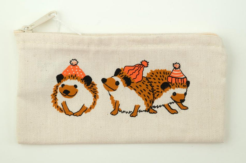 Wee Hedgehog Zip Pouch