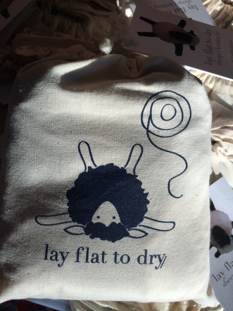 Project Bag Blue: Lay Flat To Dry