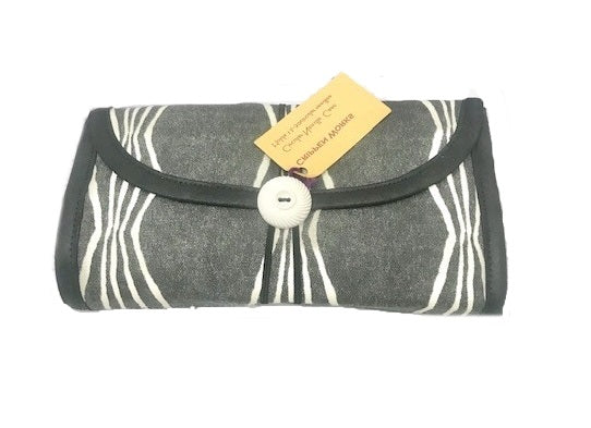 Circular Needle Case: Charcoal