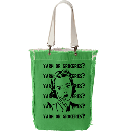 Project Tote: Yarn Or Groceries?