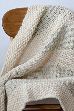 Knit Kit - Easy Heirloom Knit Blanket