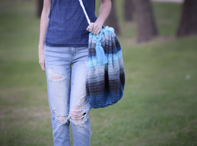 Crochet Kit - Blanket Bag