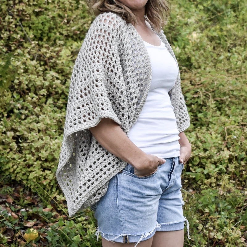 Crochet Kit - The Boho Cardigan