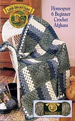 Pattern Booklet: 6 Beginner Crochet Afghans Homespun