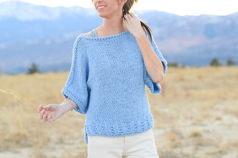 Easy Knit Boxy T Shirt Top Kit