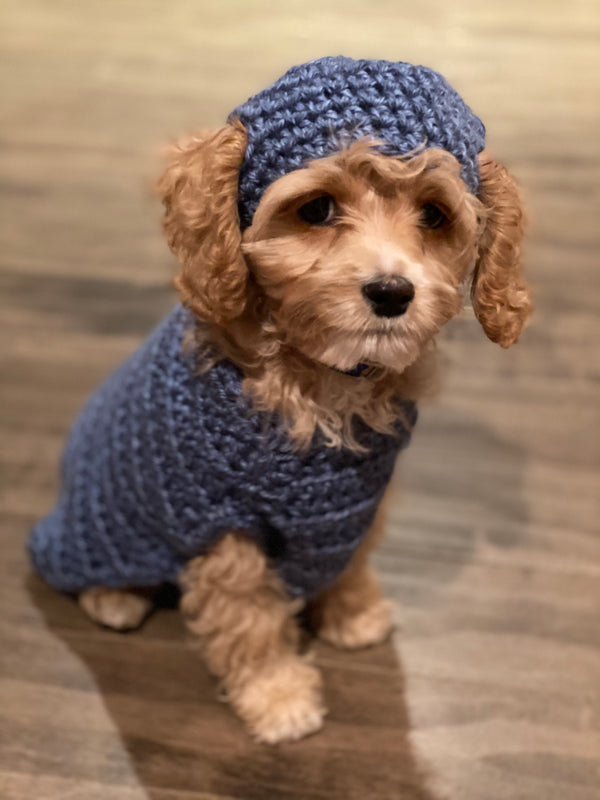 Boychick's First Sweater and Hat (Crochet)
