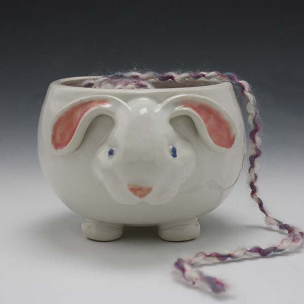 Bunny Yarn Bowl