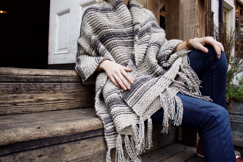 Knit Kit - The Campfire Blanket Scarf