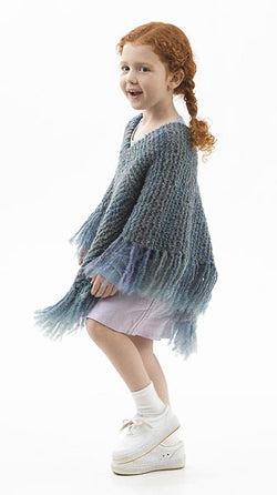 Downtown Tot Poncho (Crochet)