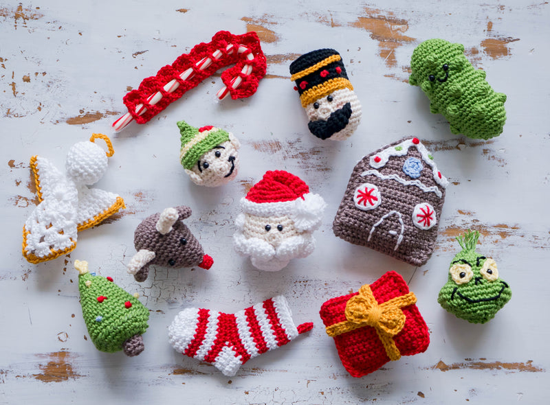 Crochet Kit - Christmas Ornaments