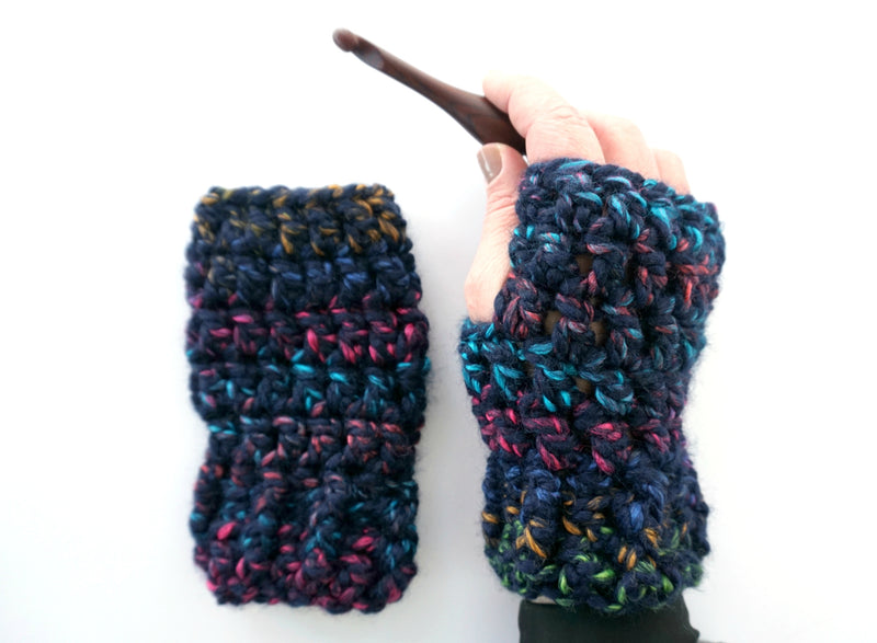 Crochet Kit - City Lights Hat and Mitts Set