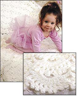 Heirloom lace throw Pattern (Crochet)