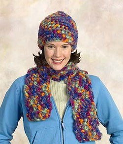 Hat and Scarf Pattern (Crochet)