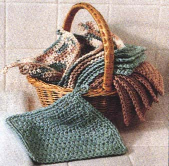 Washcloth Pattern (Crochet)