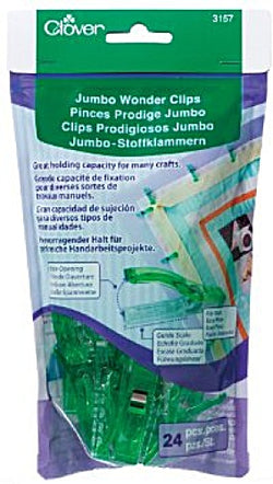 Clover Jumbo Wonder Clips (24 pcs)