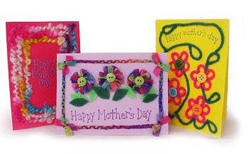 Cheerful Card lavender Pattern (Crafts)
