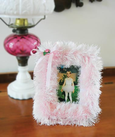 Silky Fur Picture Frame (Other)