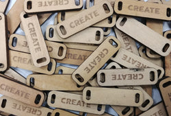 CREATE Wooden Tag
