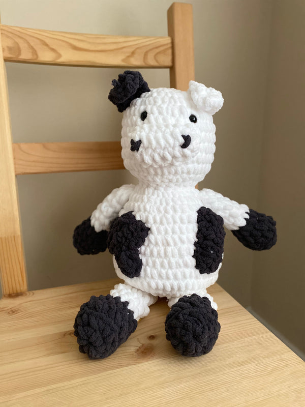 Pillow Cow (Crochet)