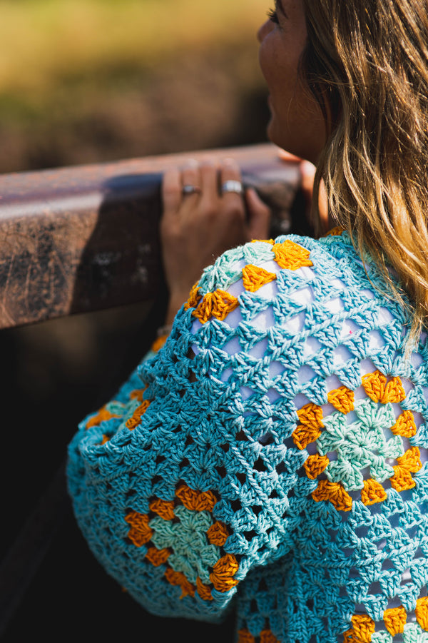 Granny Square Jacket (Crochet)