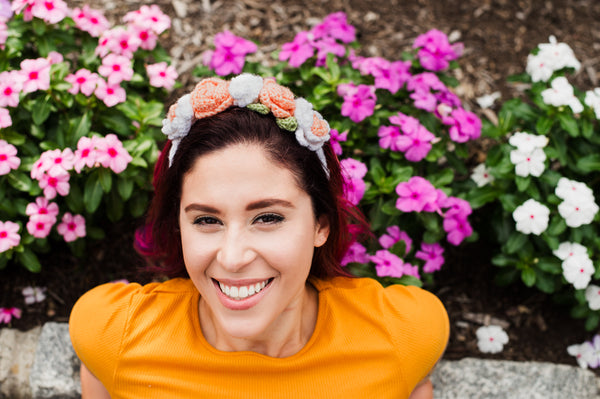 Flower Headband (Crochet)