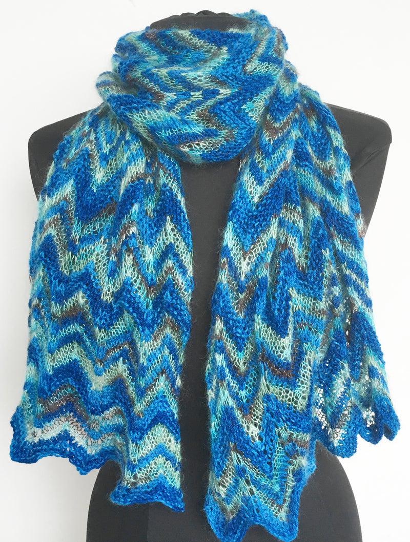 Knit Kit - Drama Queen Shawl