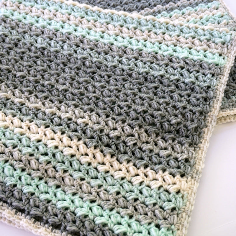 Crochet Kit - Dream Puffs Afghan