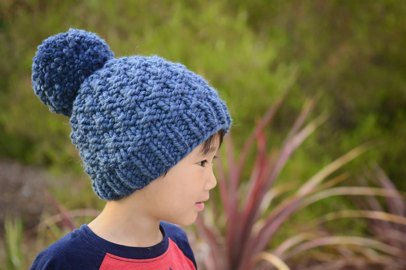 Knit Kit - Little Granite Slouch Beanie