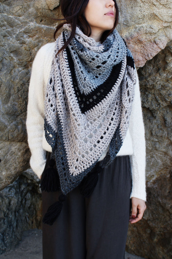 Crochet Kit - Mystic Morning Wrap